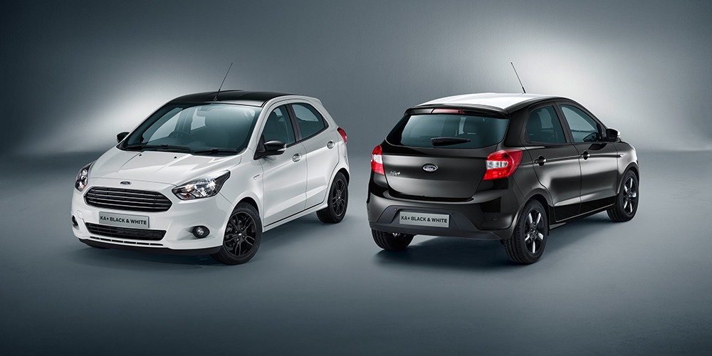 Ford KA+ White & Black Edition
